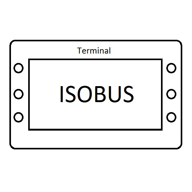 Isobus-Terminal