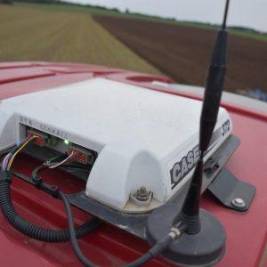 Case Trimble Ag-372 GPS-Receiver RTK mit Mobilfunk-Antenne